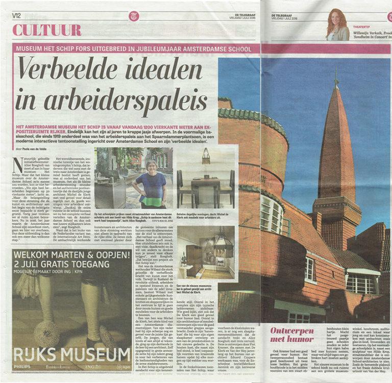 Telegraaf 01-07-2016